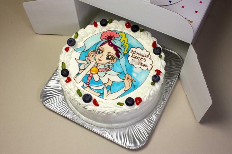 キュアマーメイドのケーキ