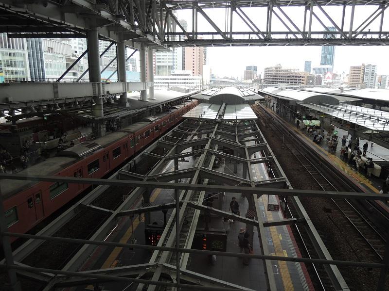大阪駅 線路