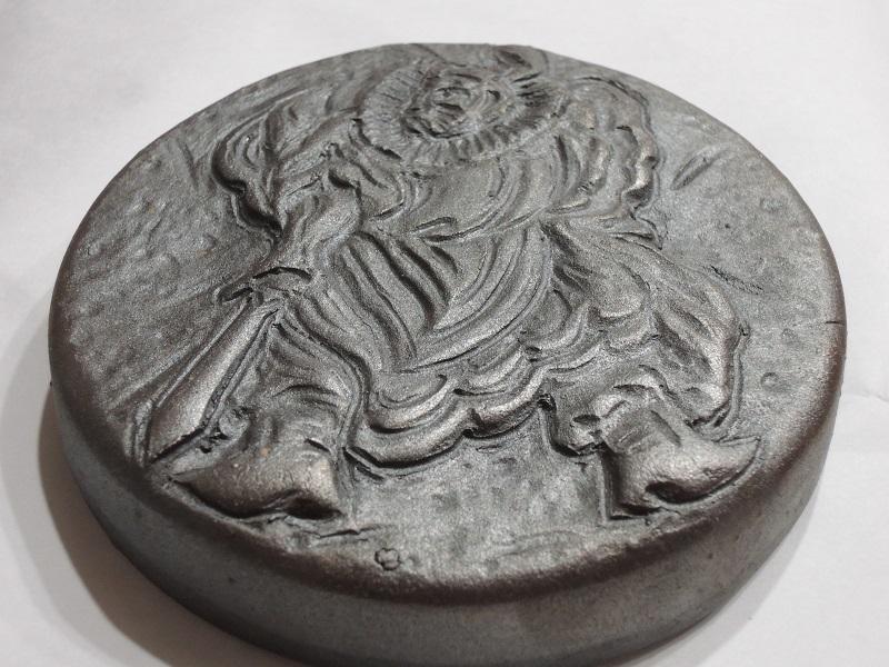 特製 鍾馗さんの陶板
