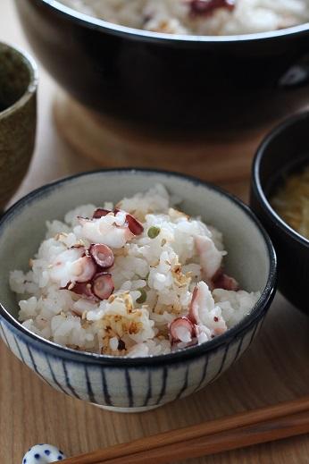 山椒のタコ飯