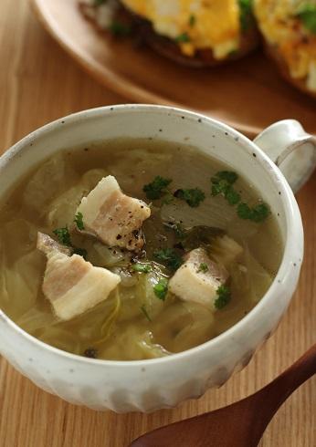 塩豚のスープ