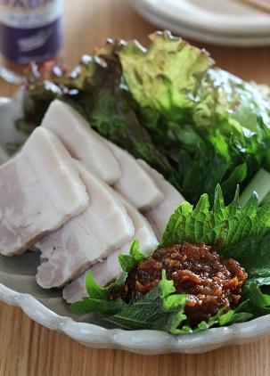 塩豚ニンニク味噌2