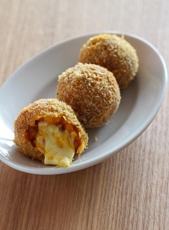 チーズ入り南瓜コロッケ1