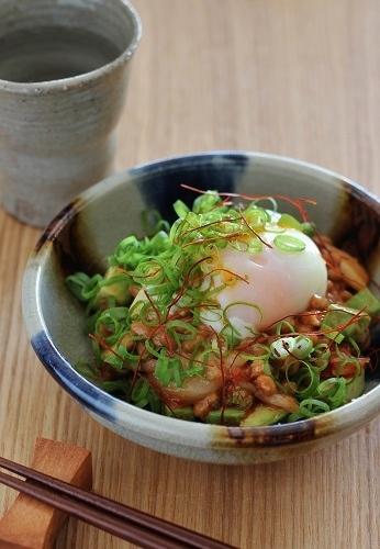 アボカド納豆キムチ