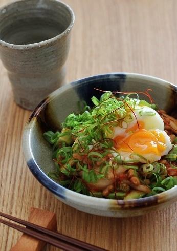 アボカド納豆キムチ1
