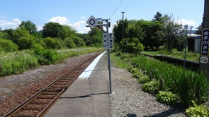夕張 南空知 駅舎めぐり (14)