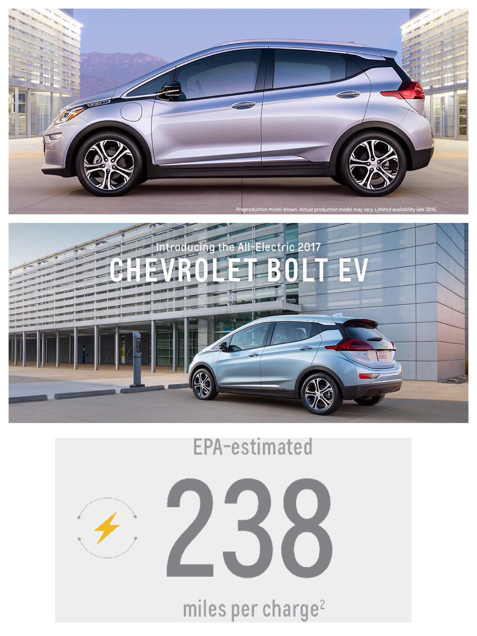 GM シボレーボルトBOLT EV