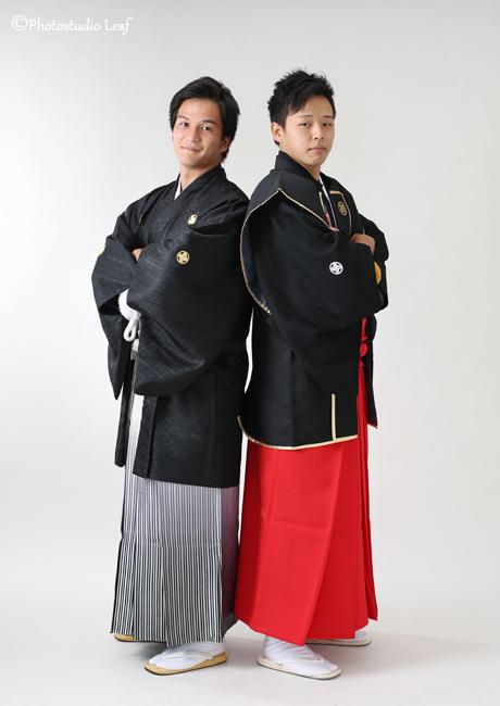 男性羽織袴 成人式
