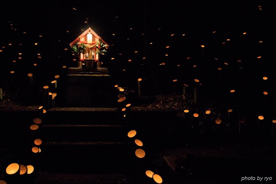 伝統芸能と光の祭典_2