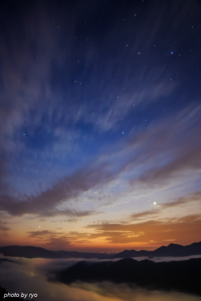 雲な朝_2
