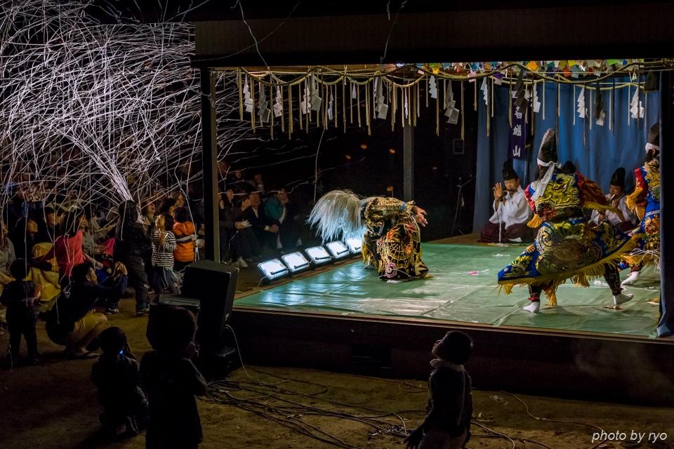 伝統芸能と光の祭典_5