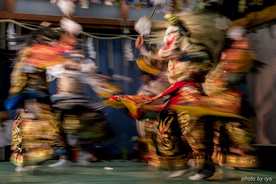 伝統芸能と光の祭典_8