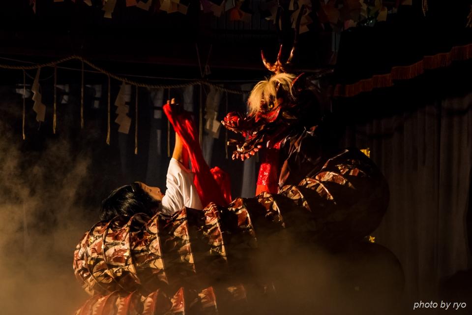 伝統芸能と光の祭典_9