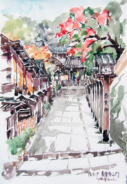 181107京都長楽寺でB4