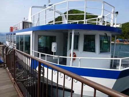 伊根湾めぐり遊覧船45