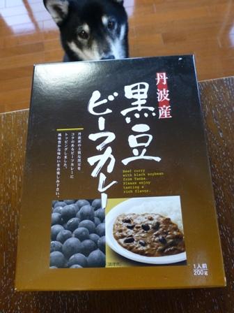黒豆ビーフカレー1