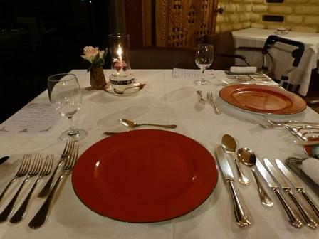 ホテル川久夕食8