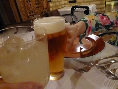 ホテル川久夕食11