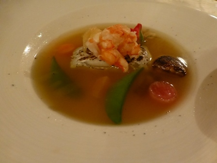 ホテル川久夕食22
