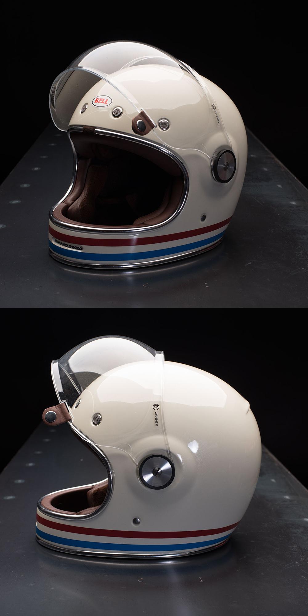 ヘルメットを新調: Bell Bullitt (Stripes Vintage White)