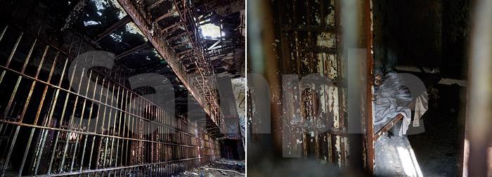 廃墟写真集「エセックス郡刑務所」 サンプル_P10-11