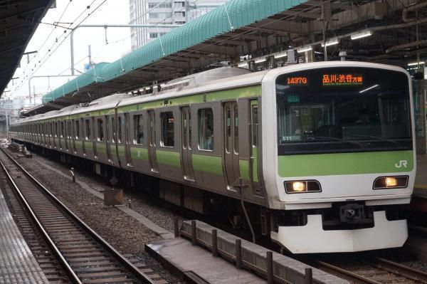 2016-09-21 山手線E231系トウ511編成 品川・渋谷方面行き