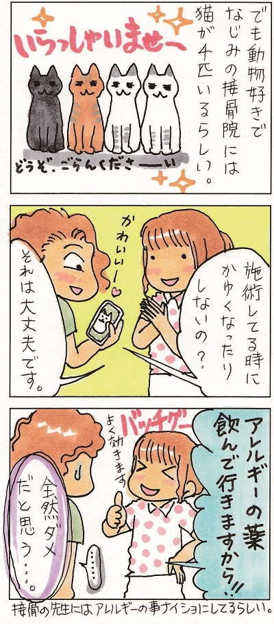 猫アレルギーのYちゃん 2-2
