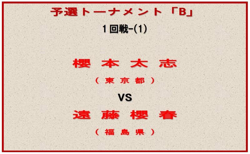 予選-B-対戦ボード