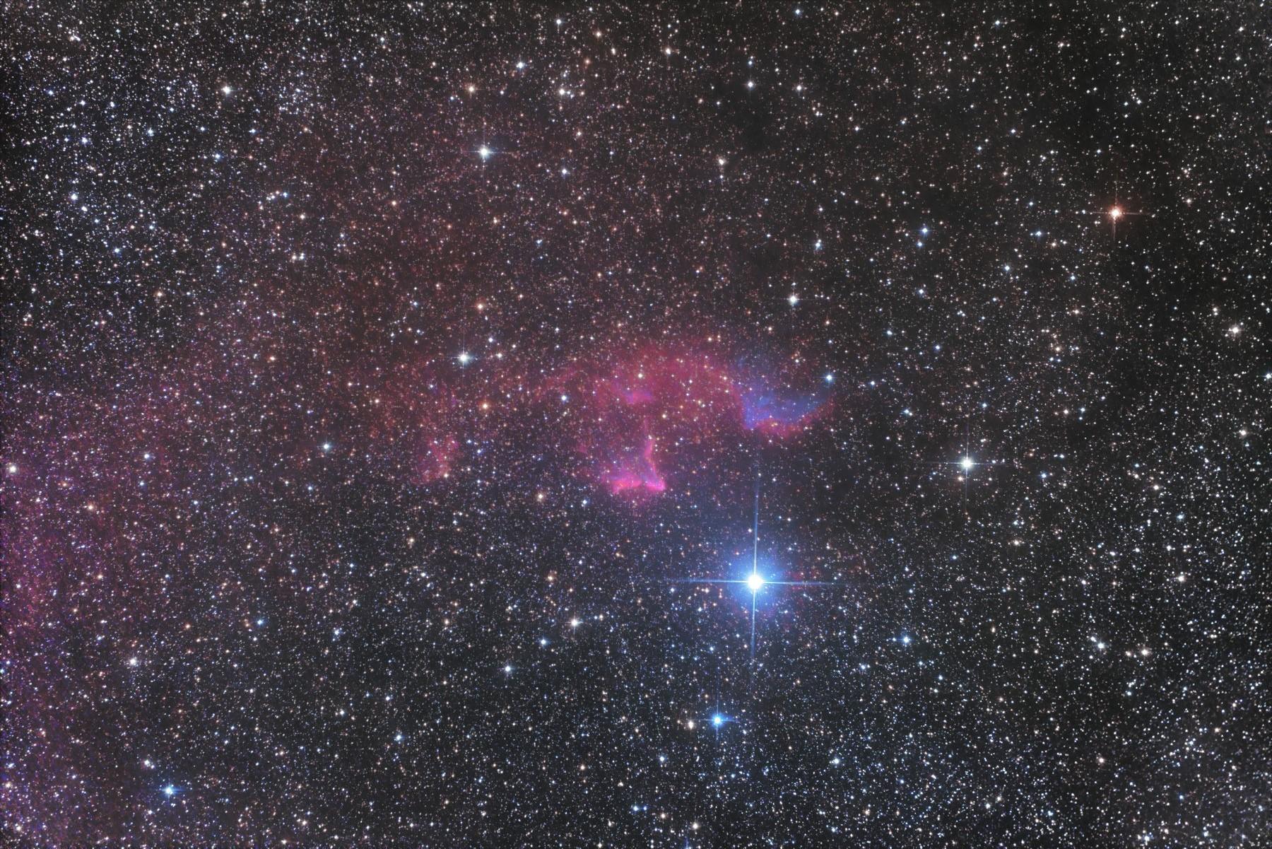 【星雲】IC59 & IC63