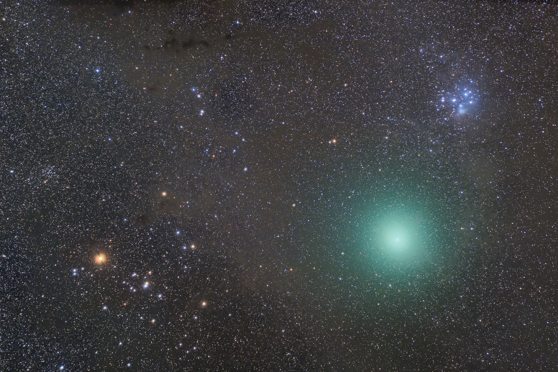 【彗星】46P/ウィルタネン彗星、撮っちゃるねん(ノ゚∀゚)ノ