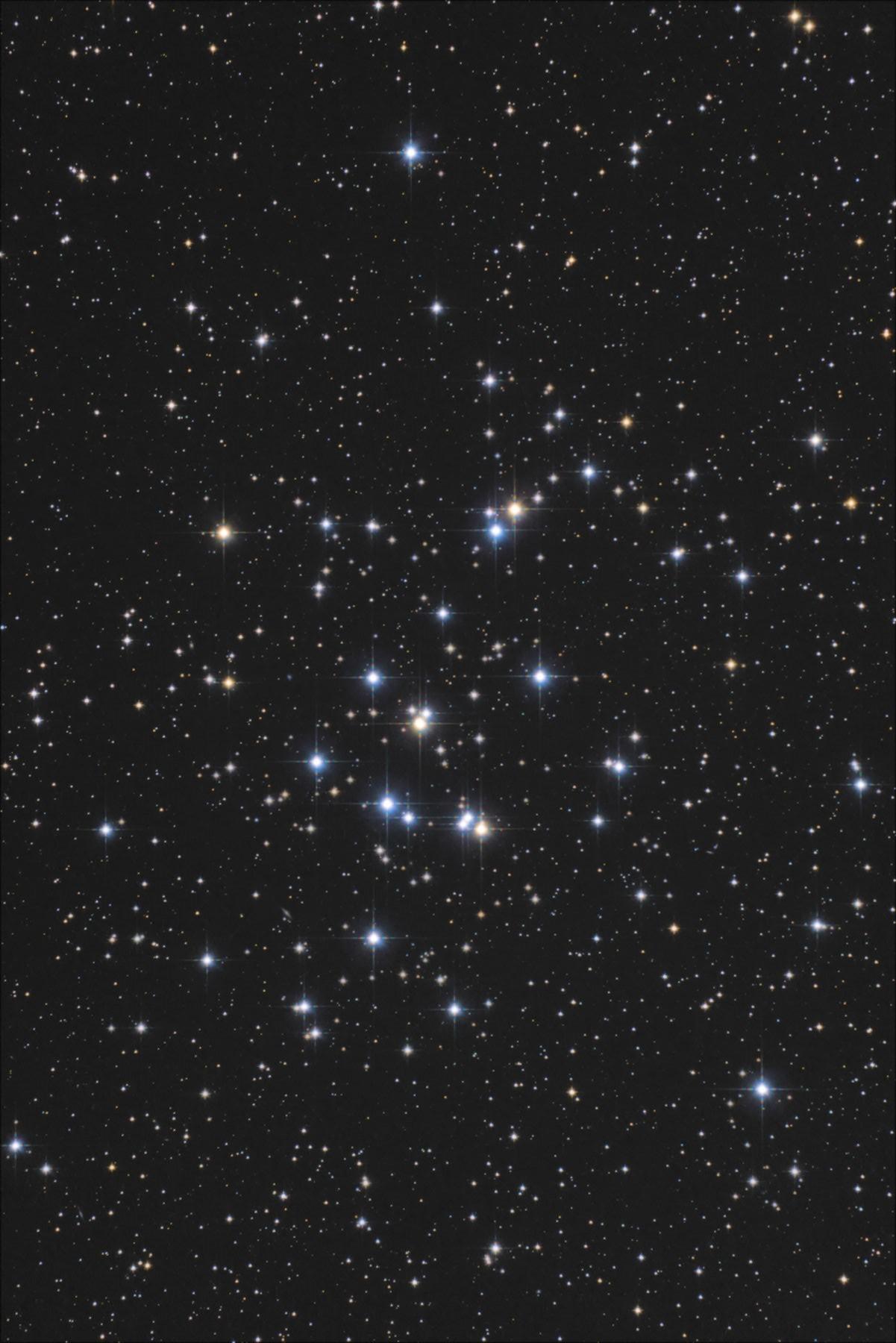 【星団】M44 プレセペの降る・・・