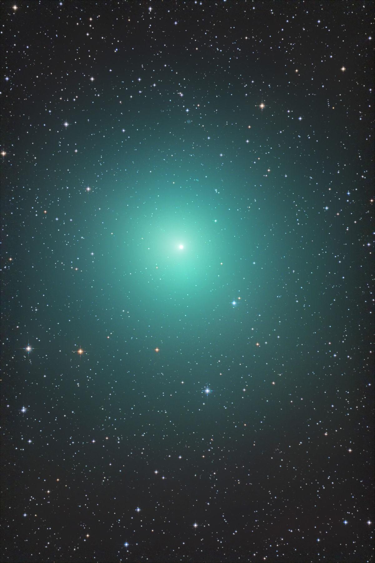 【彗星】46P/ウィルタネン彗星、やっぱデカイねん(ノ゚∀゚)ノ