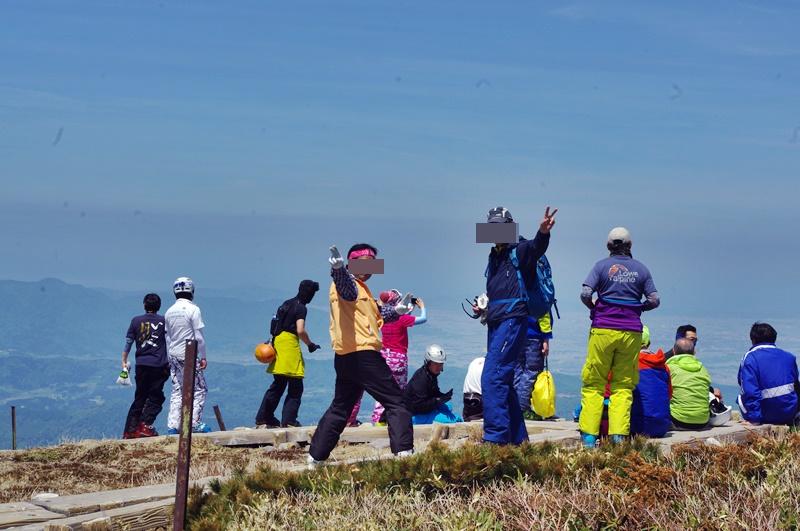 姥ケ岳山頂-3