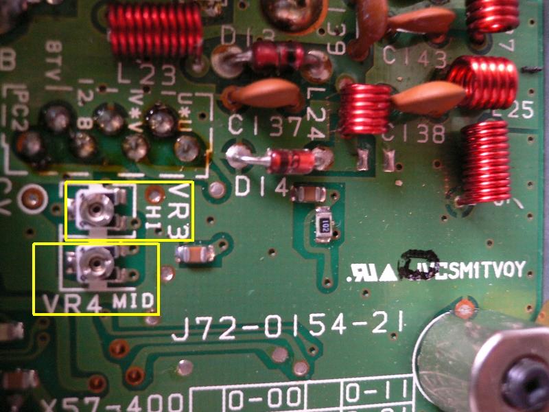 TM732 144MHZ帯ファイナル調整