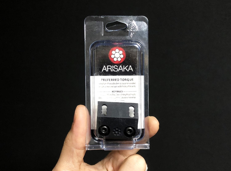 0 実物 ARISAKA DEFENSE LLC OFFSET SCOUT MOUNT M-LOK SUREFIRE M600 M300 SCOUTLIGHT アリサカ オフセット スカウト ライト マウント 購入 開封 レビュー