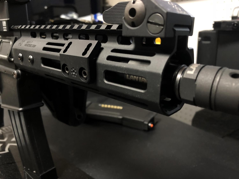 9 実物 ARISAKA DEFENSE LLC OFFSET SCOUT MOUNT M-LOK SUREFIRE M600 M300 SCOUTLIGHT アリサカ オフセット スカウト ライト マウント 購入 開封