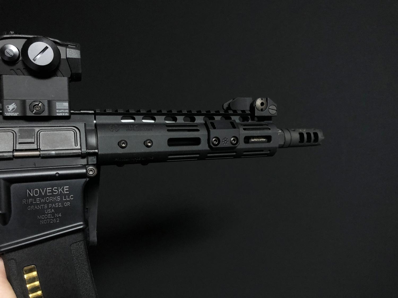 11 実物 ARISAKA DEFENSE LLC OFFSET SCOUT MOUNT M-LOK SUREFIRE M600 M300 SCOUTLIGHT アリサカ オフセット スカウト ライト マウント 購入 開封