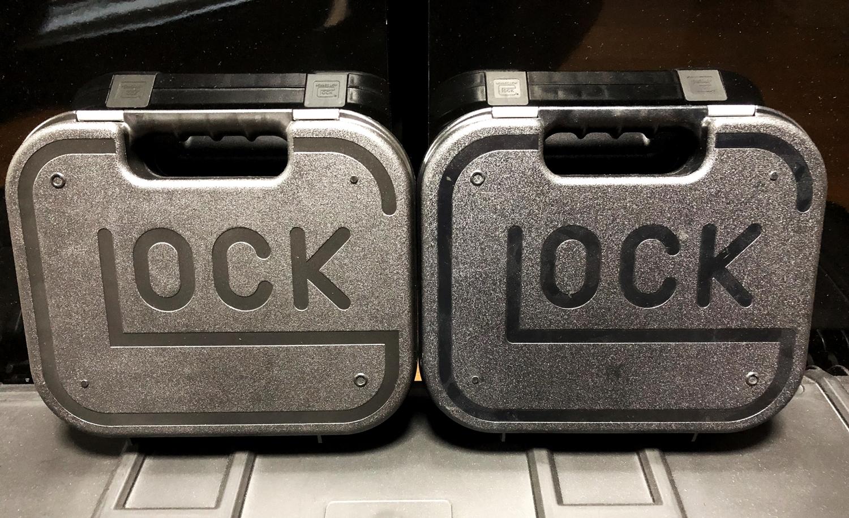 2 GLOCK ハードガンケース!!『実物純正』 vs 『レプリカ』 !! どっちを選ぶ! どれ程違うのかを検証してみた!! 購入 開封 レビュー 価格 最安!!