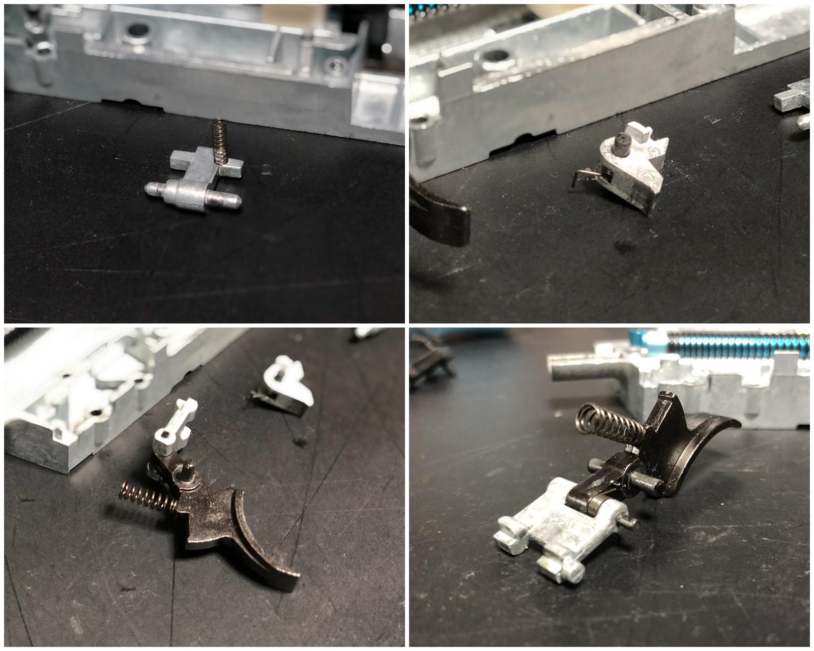 12 MALZEN 『CA870チャージャー』 を 『CA870ソードオフ』 へ改造計画!! トリガー&トリガーガード交換編!!