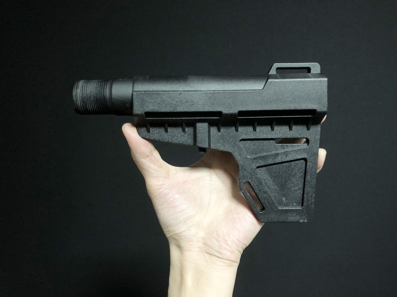 5 実物 『KAK AR15 Mil Spec Castle Nut』 を 『KAK Shockwave Blade Pistol Stabilizer』 用に購入!! 少し早めのクリスマスプレゼント!!