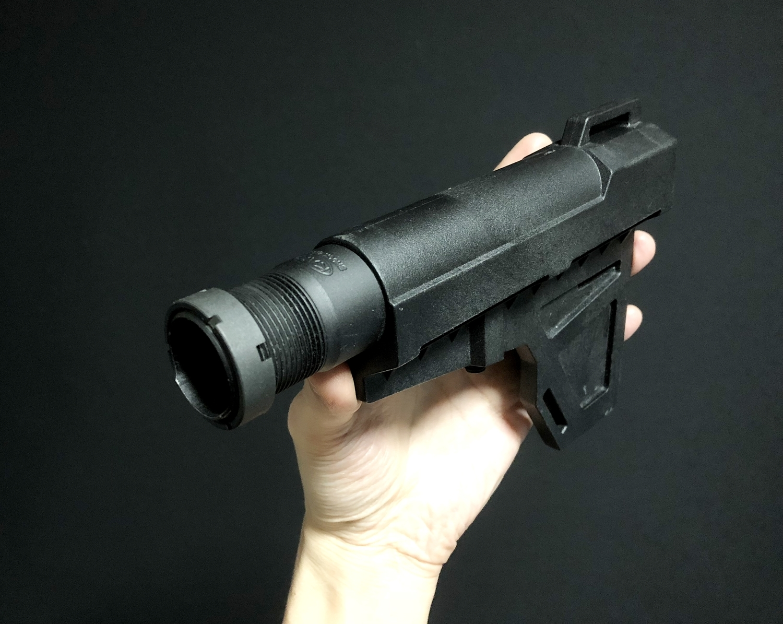 8 実物 『KAK AR15 Mil Spec Castle Nut』 を 『KAK Shockwave Blade Pistol Stabilizer』 用に購入!! 少し早めのクリスマスプレゼント!!