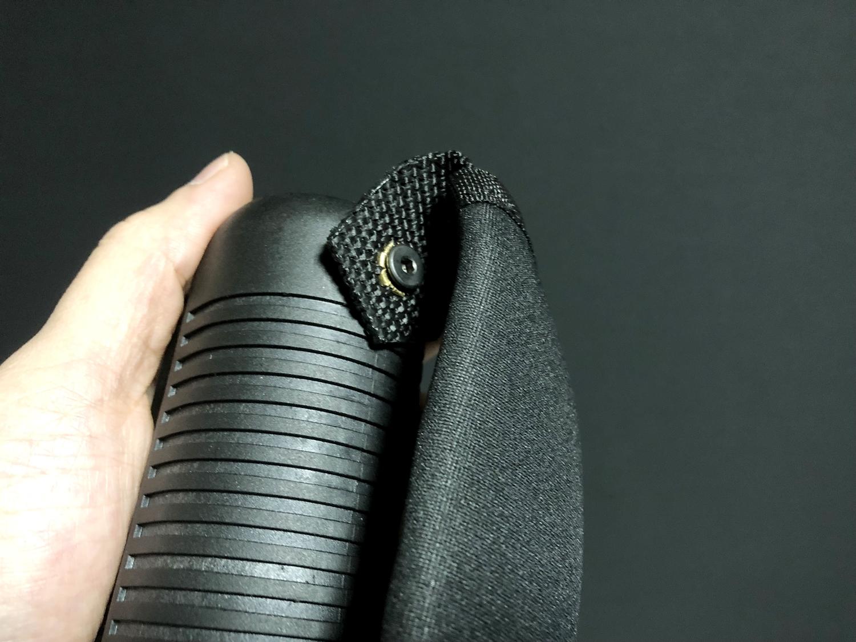 11 マルゼン CA870 フォアエンド カスタム DIY ORIGINAL RAPTOR STRAP KIT 870 FOREND オリジナル ストッパー バンド ベルト パット 加工 取付 結果 レビュー したるの巻