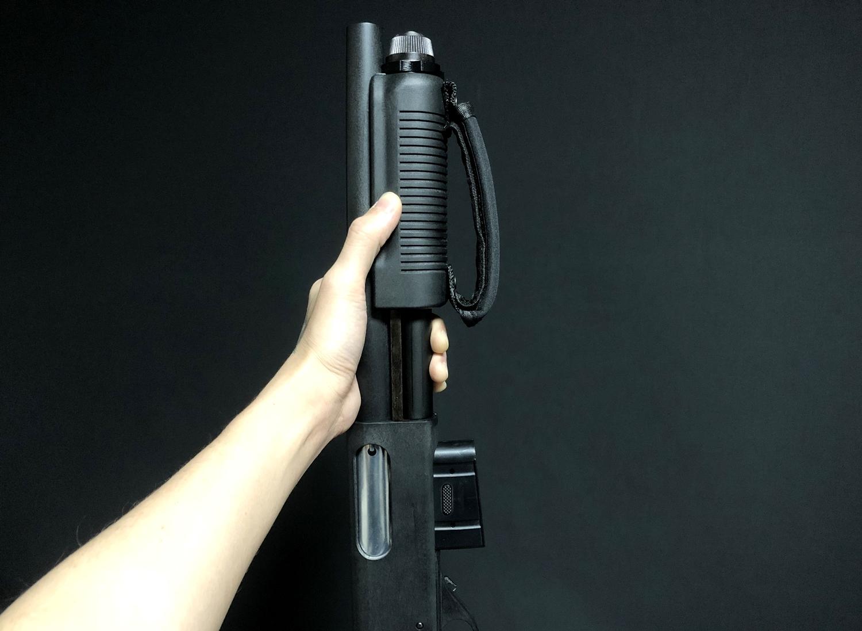7 MALZEN CA870 ヘ G&P製 22連マガジンを装着してみた!! G&P ショットガン M870用 GP453 購入 取付 レビュー!!
