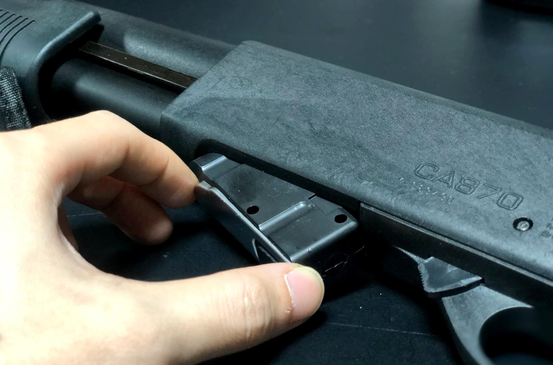 8 MALZEN CA870 ヘ G&P製 22連マガジンを装着してみた!! G&P ショットガン M870用 GP453 購入 取付 レビュー!!