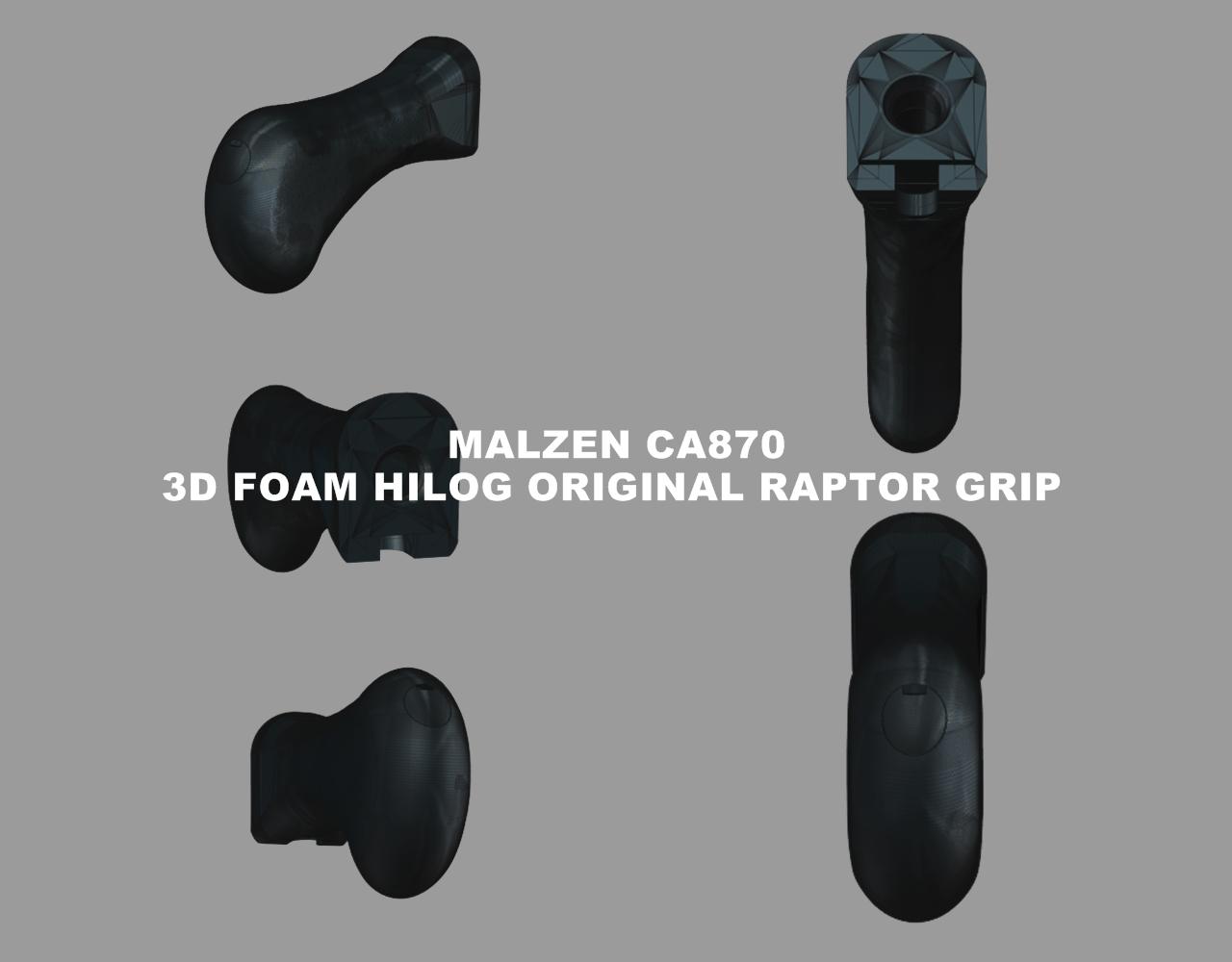 3D FOAM HILOG ORIGINAL RAPTOR GRIP MALZEN マルゼン CA870 ラプター グリップ