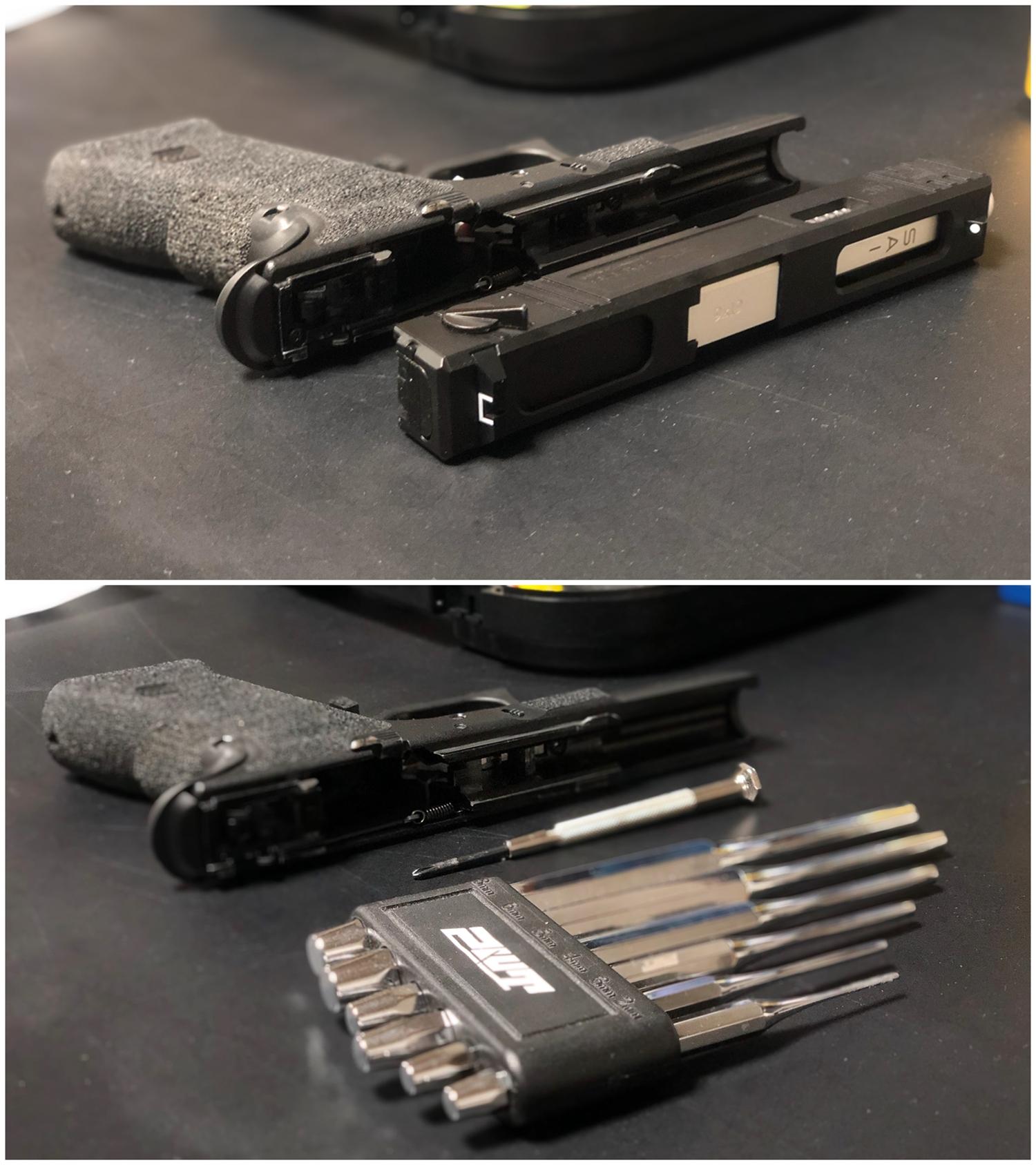 5 GunsModify GLOCK SAI アジャスタブルトリガー Ver3 GM0026 GM0079 に交換してみた! GLOCK G18C カスタム 購入 分解 取付 交換 取付方法 レビュー!!