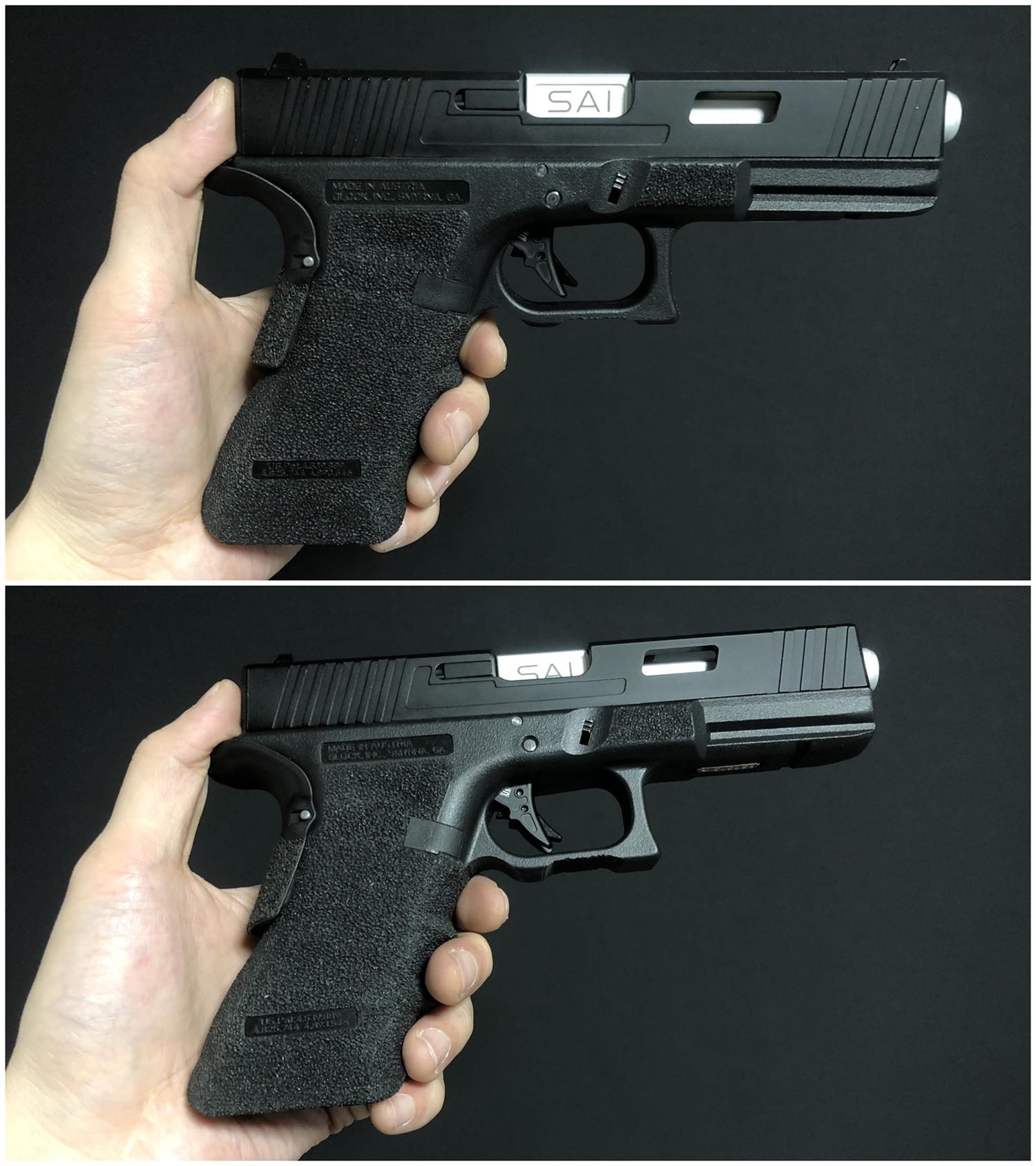 23 GunsModify GLOCK SAI アジャスタブルトリガー Ver3 GM0026 GM0079 に交換してみた! GLOCK G18C カスタム 購入 分解 取付 交換 取付方法 レビュー!!