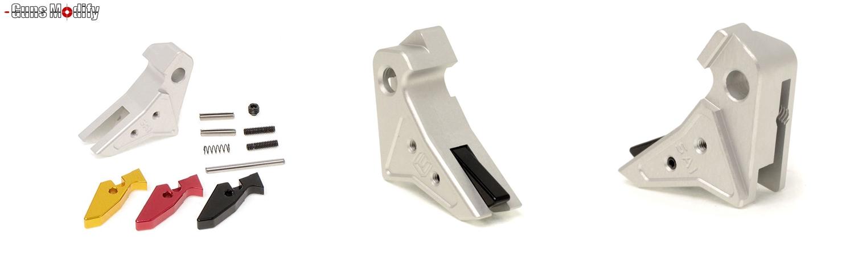 27 GunsModify GLOCK SAI アジャスタブルトリガー Ver3 GM0026 GM0079 に交換してみた! GLOCK G18C カスタム 購入 分解 取付 交換 取付方法 レビュー!!