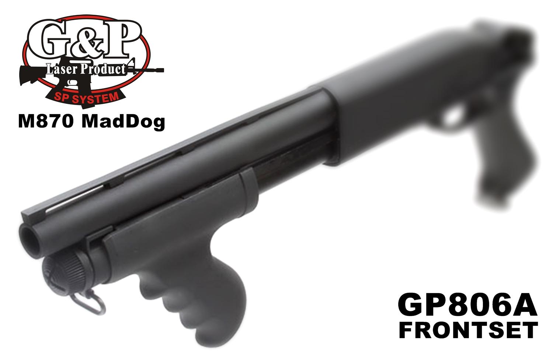 2 MALZEN CA870 アウターバレル カスタム!! G&P製 M870 Mad Dog リアル ショート アウターバレルを付けて見た!! G&P Shotgun CA870 Mad Dog Type Front Set Short GP806A 購入 取付 レビュー