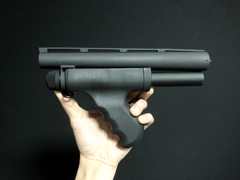 4 MALZEN CA870 アウターバレル カスタム!! G&P製 M870 Mad Dog リアル ショート アウターバレルを付けて見た!! G&P Shotgun CA870 Mad Dog Type Front Set Short GP806A 購入 取付 レビュー